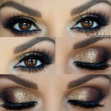 Stunning Shimmer Eye Makeup Ideas 201843