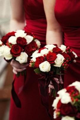 Casual Winter White Bouquet Ideas15