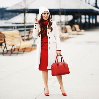 Charming Christmas Heels Ideas For Cute Women10