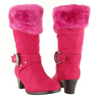 Charming Christmas Heels Ideas For Cute Women16