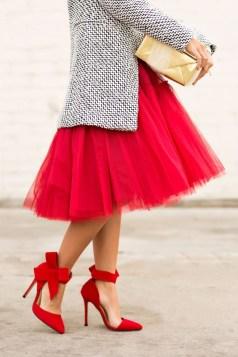 Charming Christmas Heels Ideas For Cute Women42