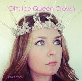 Charming Diy Winter Crown Holiday Party Ideas02