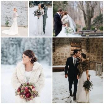 Fabulous Winter Wonderland Wedding Dresses Ideas16