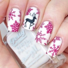 Outstanding Christmas Nail Art New 2017 Ideas04