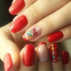 Outstanding Christmas Nail Art New 2017 Ideas08