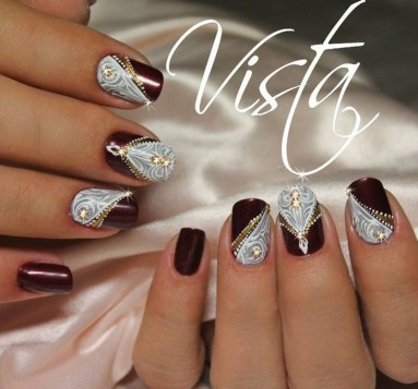 Outstanding Christmas Nail Art New 2017 Ideas26