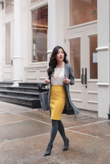 Affordable Winter Skirts Ideas With Tights17
