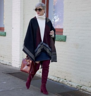 Awesome Winter Dress Outfits Ideas With Boots03