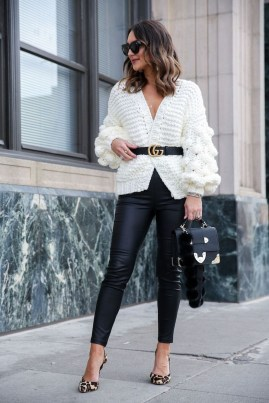 Best Winter Outfits Ideas With Leggings33