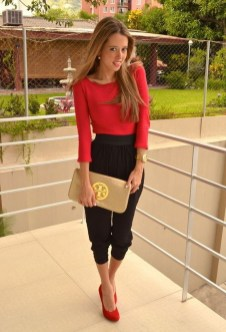 Classy Outfit Ideas For Valentine'S Day13