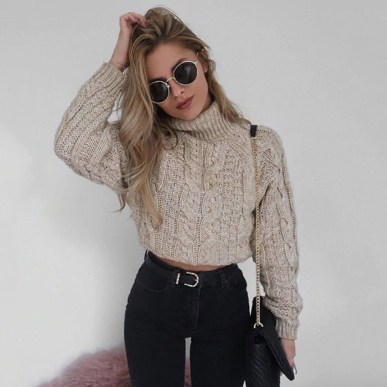Classy Winter Outfits Ideas For School06