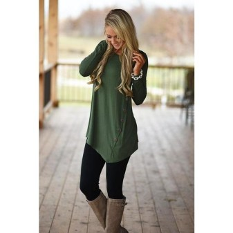 Classy Winter Outfits Ideas For School35