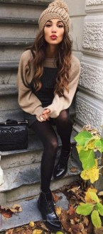 Classy Winter Outfits Ideas For School38