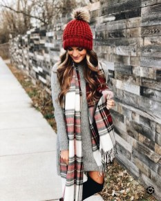 Flawless Winter Dress Outfits Ideas10