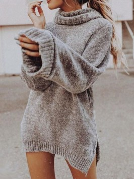 Flawless Winter Dress Outfits Ideas18