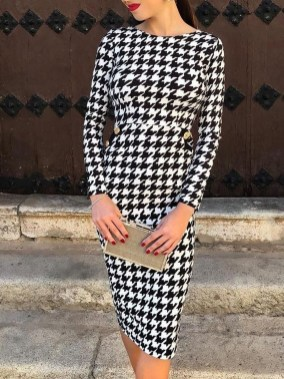 Flawless Winter Dress Outfits Ideas24