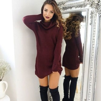 Flawless Winter Dress Outfits Ideas42