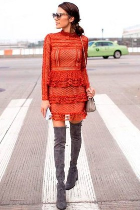 Inpiring Outfits Ideas For Valentines Day35