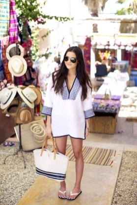 Stylish Fashion Beach Outfit Ideas36