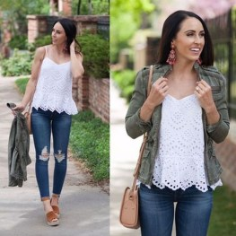 Charming Womens Lightweight Jackets Ideas For Spring40