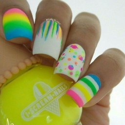 Modern Easter Nail Art Design Ideas23