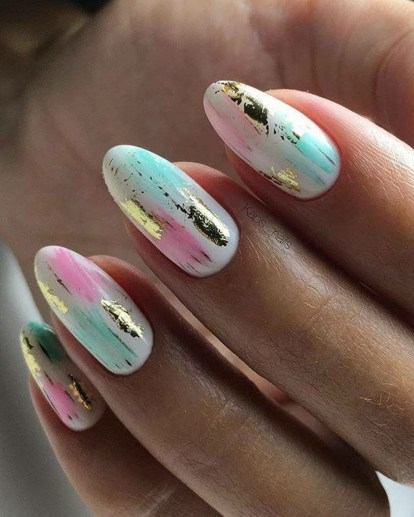 Modern Easter Nail Art Design Ideas24