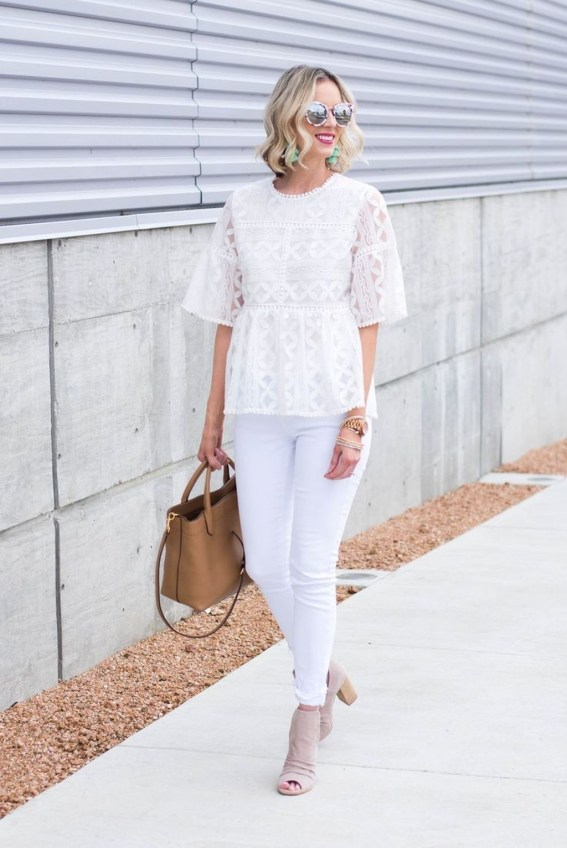 Outstanding Outfit Ideas To Wear This Spring38