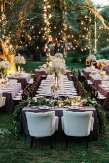 Pretty Backyard Reception Decoration Ideas13