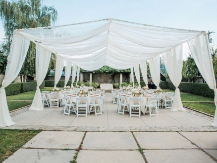 Pretty Backyard Reception Decoration Ideas16