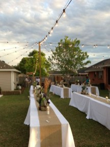 Pretty Backyard Reception Decoration Ideas44