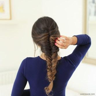Stylish Mermaid Braid Hairstyles Ideas For Girls18
