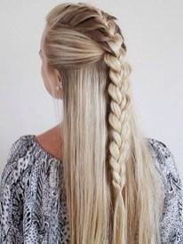 Stylish Mermaid Braid Hairstyles Ideas For Girls40