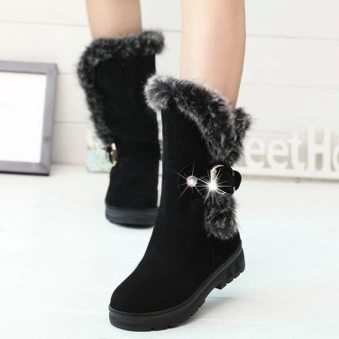 Best Ideas To Wear Wide Ankle Boots This Spring07