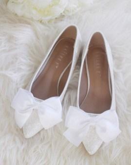 Captivating Flat Wedding Shoes Ideas16