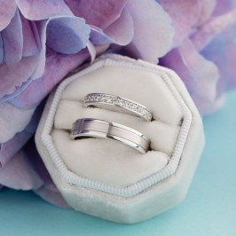 Creative Wedding Ring Sets Ideas For Bride And Groom16