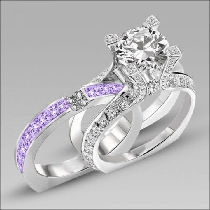 Creative Wedding Ring Sets Ideas For Bride And Groom24