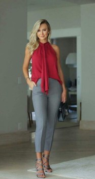 Cute Workwear Outfit Ideas For Summer30