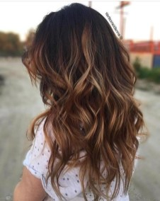 Elegant Dark Brown Hair Color Ideas With Highlights20