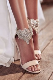 Lovely Wedding Shoe Ideas To Get Inspired28