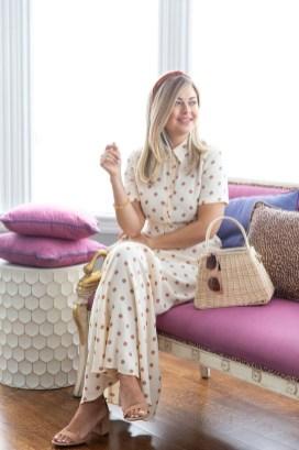 Delicate Polka Dot Maxi Skirt Ideas For Reunion07