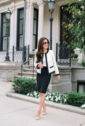 Fashionable Work Outfit Ideas To Try Now25