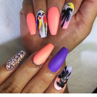 Gorgeous Nail Designs Ideas In Summer For Women05