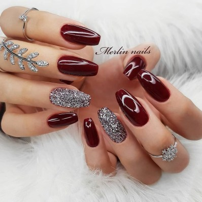 Inspiring Nail Art Ideas For Wedding Party41