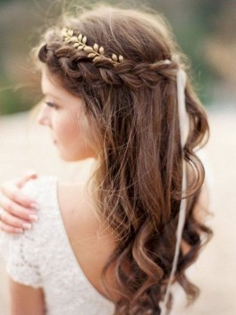 Rustic Hairstyle Ideas For Wedding31