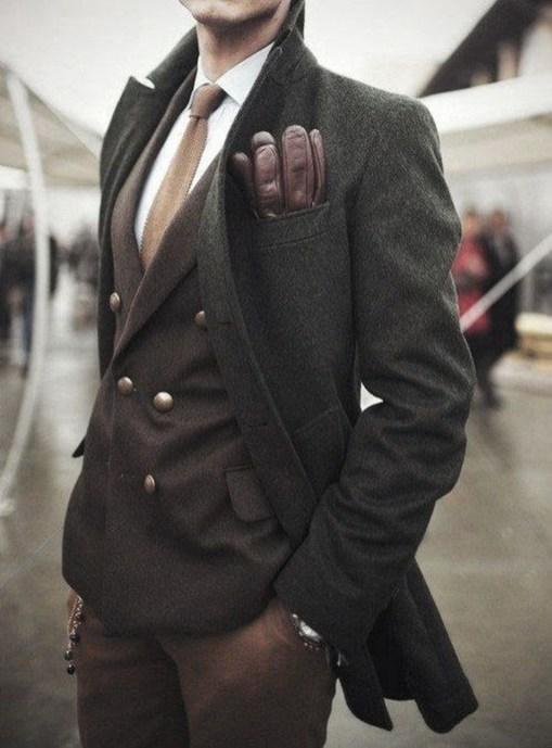Elegant Winter Outfits Ideas For Men39