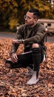 Flawless Men Black Jeans Ideas For Fall27
