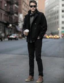 Flawless Men Black Jeans Ideas For Fall32