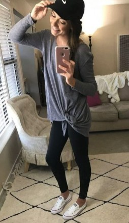 Inspiring Summer Outfits Ideas With Leggings To Try06