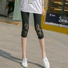 Inspiring Summer Outfits Ideas With Leggings To Try41