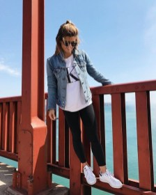 Attractive Sneakers Outfit Ideas For Fall And Winter10